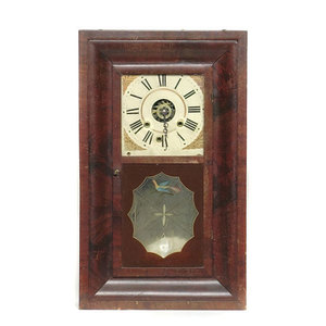 Crane's Patent Cincinnati Ogee Shelf Clock,