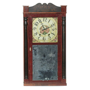 Seymour Williams & Porter Farmington Ct. Shelf Clock,
