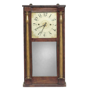 Luman Watson Cincinnati Ohio Shelf Clock,