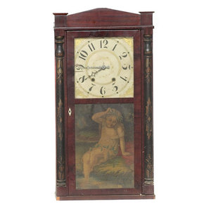 George Mitchell Bristol Ct. Shelf Clock,