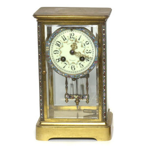 Frank Herschede's French Crystal Regulator Clock,