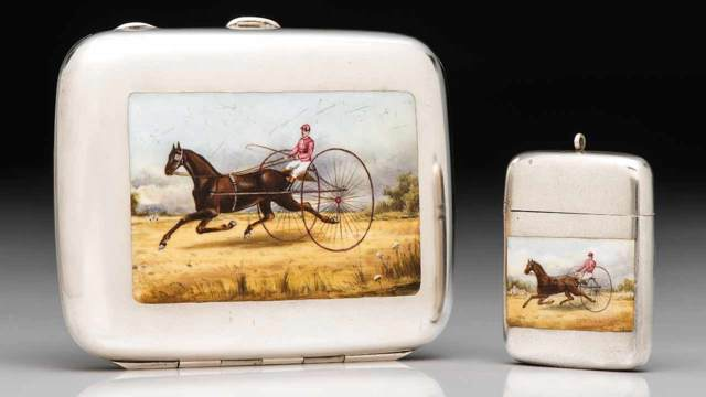 6/28/2018 - The Magnificent Match Safe Collection of David and Holiday Winfield: Live Online Auction