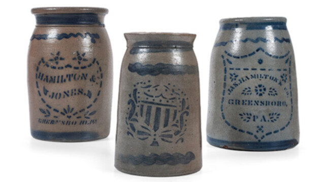 11/11/2020 - Property from the Estate of Louis Hahn, Session I: Stoneware and Advertising