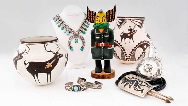 8/24/2017 - American Indian Jewelry and Southwestern Art: Timed Bidsquare Auction - ends 9/5